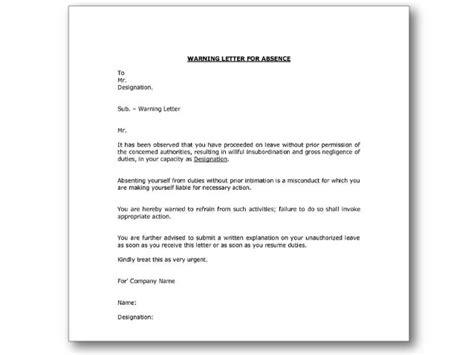 N Award Warning Letter Warning Letters