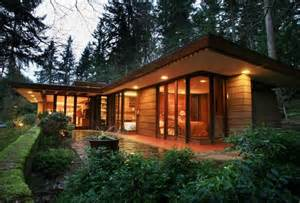 frank lloyd wright inspired house plans frank lloyd wright usonian home for sale in sammamish