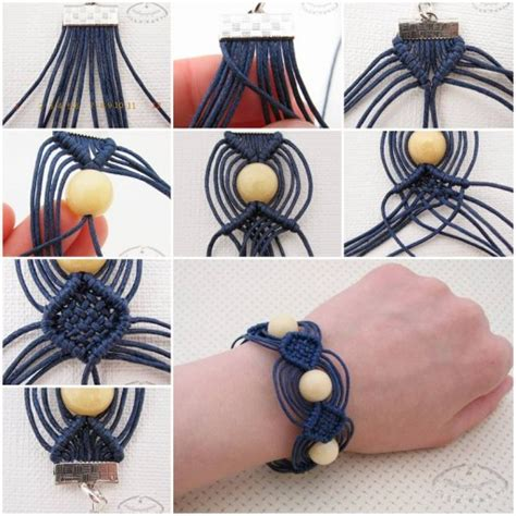 How To Make Macrame Bracelets Step By Step - how to make macrame bracelet step by step diy