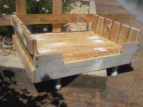 diy pallet pet bed diy wooden pallet beds 99 pallets