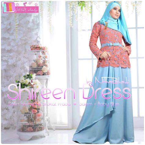 Kebaya Jadi Satin Silk Ukir kebaya modern dan baju pesta artis shireen dress made by