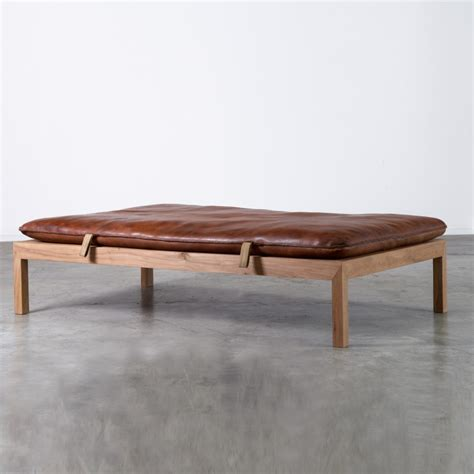 day bed bench vintage gym mat bench completely masculine and strong design leather daybed by