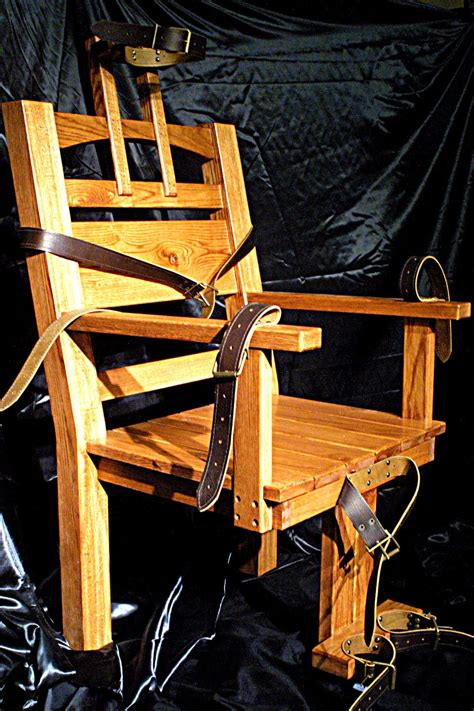 Florida Electric Chair Pictures by Sparky Electric Chair Replica By