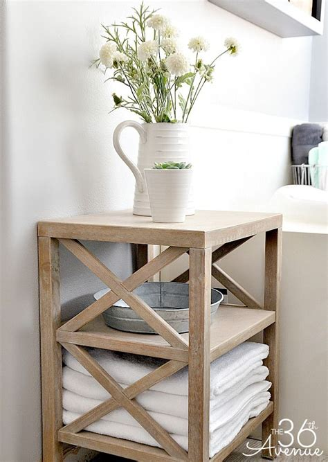 small storage table for bathroom bathroom storage ideas wood storage guest book table