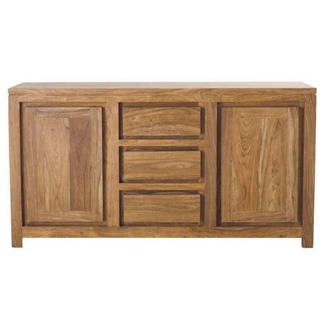 credenza maison du monde credenza in massello di legno di sheesham l 160 cm