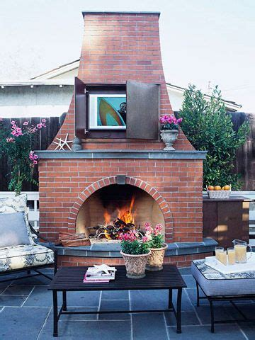 15 tips for outdoor living spaces outdoor fireplaces