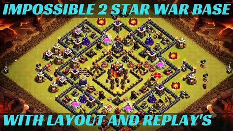clash of clans th10 war base layout most powerful th10 war base of 2018 unbreakable th10 war