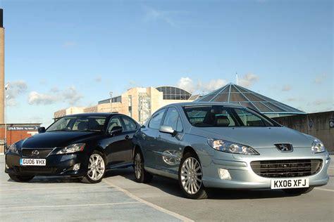 lexus is 220d se review lexus is220d se v peugeot 407 v6 hdi gt auto express