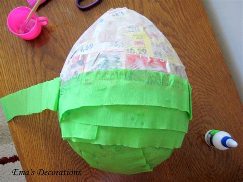 How To Decorate A Pinata by Ema Decorations How To Make A Pinata
