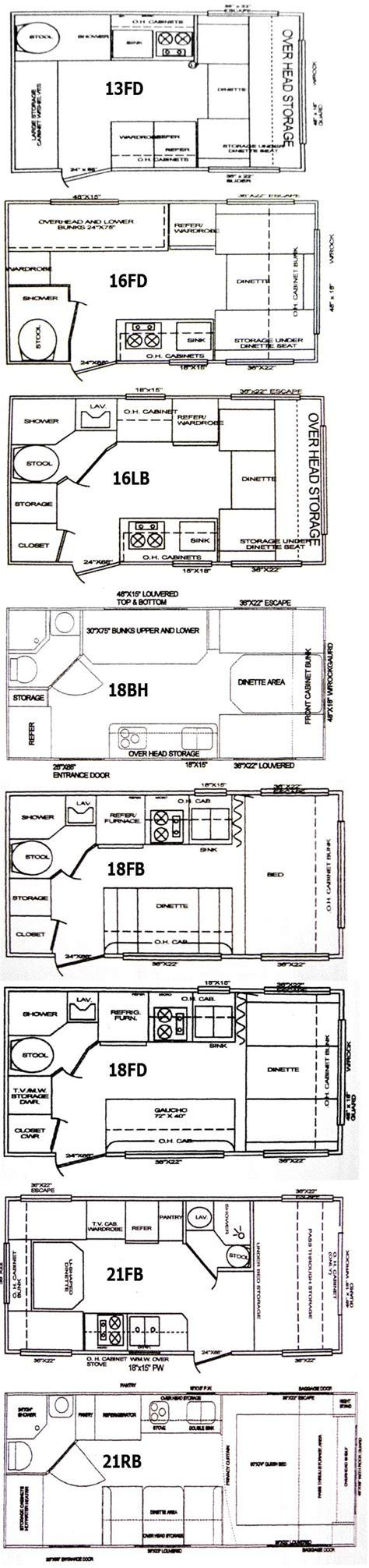 vintage travel trailer floor plans cikira classic cruiser travel trailer floorplans