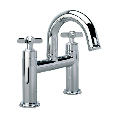 bathroom taps roper wessex deck mounted bath filler tap chrome t663202