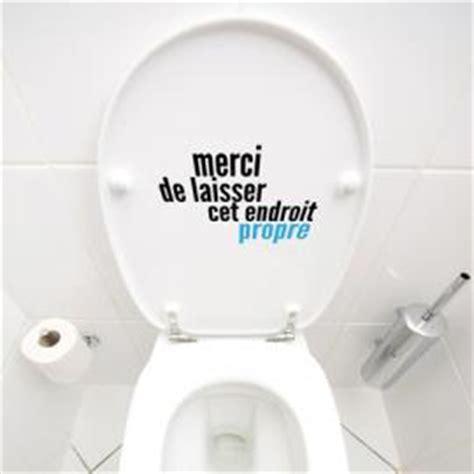 laisser cet endroit propre stickers muraux pour toilettes paristic