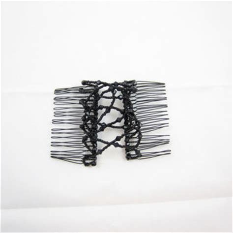 hair combs for women interlocking black interlocking hair comb black bead from
