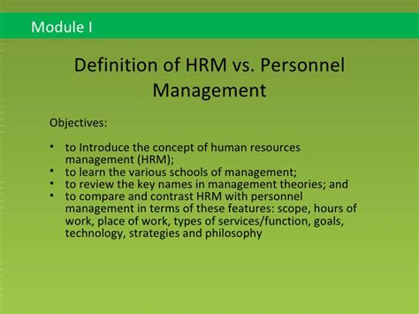 Ma Hrm Vs Mba by Pin Module Human Resource Management On