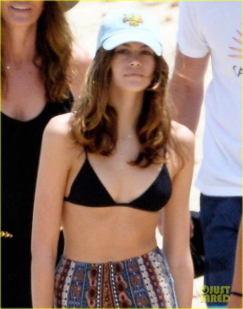 kaia gerber gallery kaia gerber brother presley hit the waves in st barts