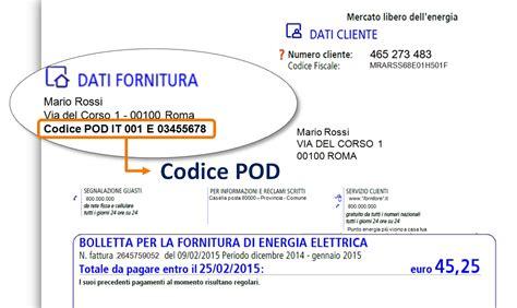 banca cc roma truffa bolletta della luce non rivelate mai il codice pod