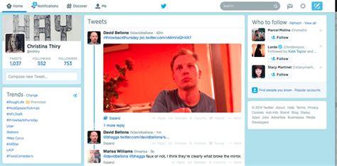 layout su twitter twitter si aggiorna arriva la terza colonna