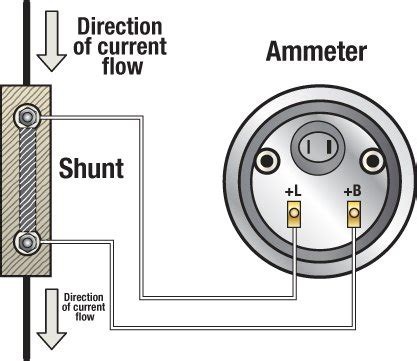ammeter wiring diagram how to install in