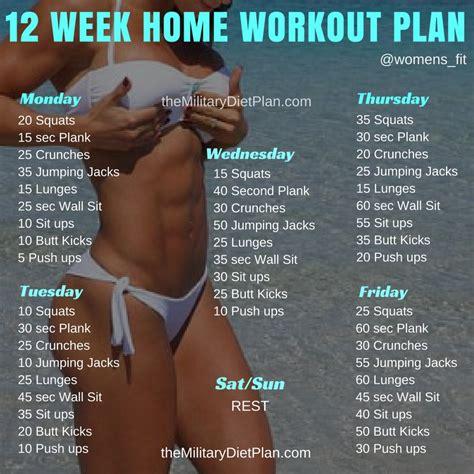 12 Week No Gym Home Workout Plans Military Diet | man workout plan workout everydayentropy com