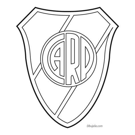 imagenes de boca juniors para dibujar faciles escudos de boca juniors y river plate para pintar
