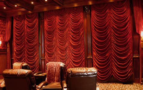 motorized home theater curtains home theater