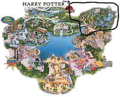 harry potter adventure map harry potter orlando florida mapa net deals image