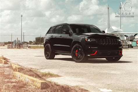 Black Jeep Grand Black Rims Ag Luxury Wheels Jeep Grand Srt Forged Wheels