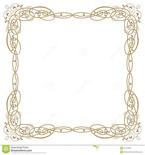 vector luxury banner border royalty free stock photos luxury border frame stock vector image 44779562