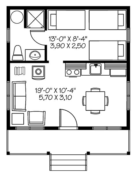 home plans 400 sq ft
