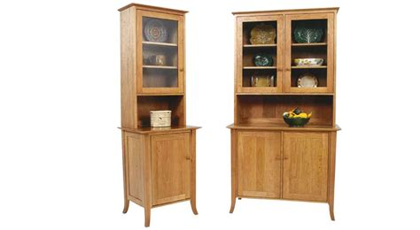 Circle Furniture Small Flare Leg Buffet And Hutch Buffets And Cabinets