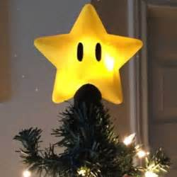 super mario star tree topper shut up and take my yen