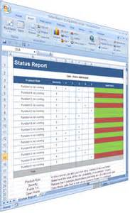 qa status report template software testing templates 50 word 27 excel