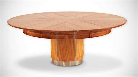 Expandable Round Dining Table by La Table De Salle 224 Manger De Robert Jupe Terre Meuble