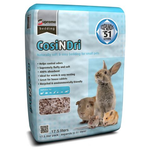small animal bedding buy supreme petfoods cosindri premium paper bedding 17 5 litre