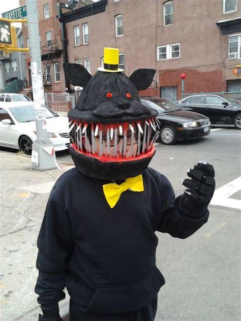 fnaf  nightmare costume halloween costumes fnaf