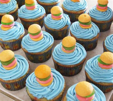 spongebob squarepants lava l spongebob cupcakes recipe spongebob krabby patty