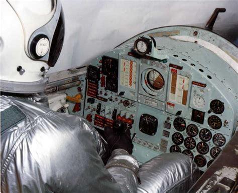 X-15 cockpit and pilot X 15 Cockpit