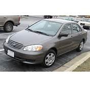 2003 Toyota Corolla Engine Recalls Review