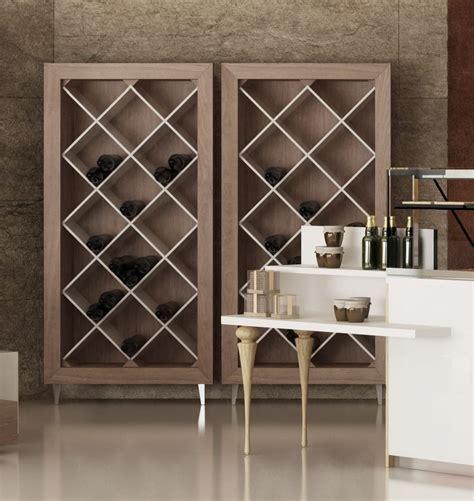 scaffali per vini mobile espositore per bottiglie vino idfdesign