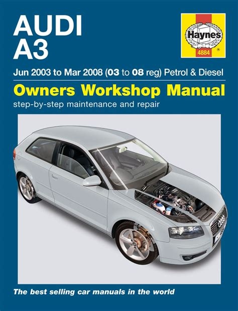 audi a3 petrol diesel jun 03 mar 08 03 to 08 haynes publishing