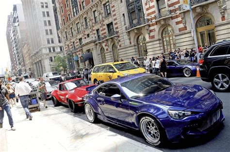 fast and furious 8 news fast furious 8 films in new york zimbio