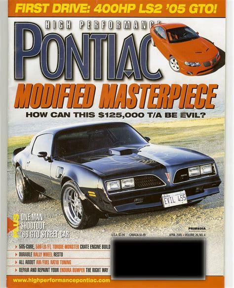 pontiac magazine pin clickhere for high resolution of performance pontiac