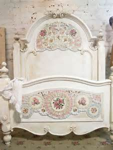 shabby chic bed shabby chic mosaic bed my style