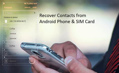 recover contacts from android phone how to recover deleted contacts from android phone memory and sim card