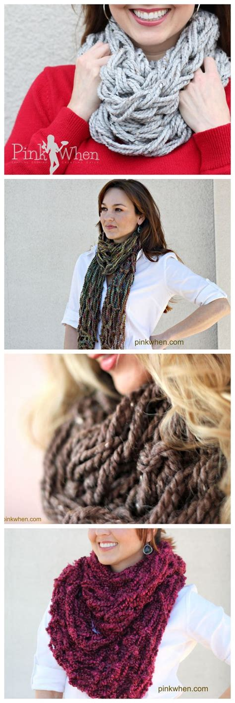 diy arm knitting infinity scarf arm knitting diy infinity scarf tutorial awesome