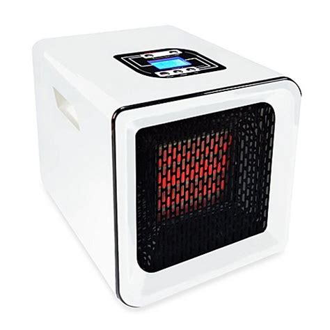 bed bath and beyond handy heater buy redcore 174 r1 infrared room heater in white from bed