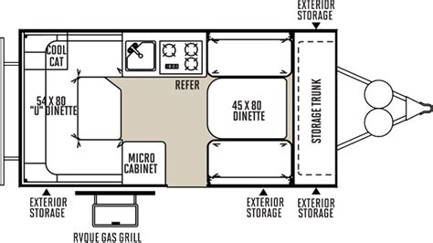 tent trailer floor plans flagstaff tent pop up cer by forest river