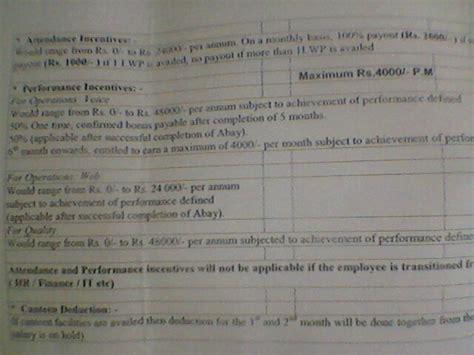 Offer Letter Sle For Bpo Offer Letter Format For Bpo Padhaee