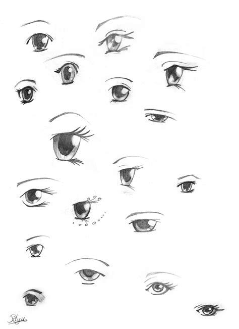 los ojos o 237 dos nariz boca collection arte vectorial de manga and anime eye collection by pityu777 on deviantart