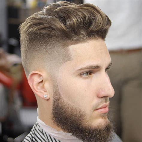 mens up hairstyles the brushed up hairstyle s hairstyles haircuts 2017